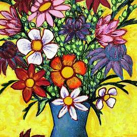 A  bouquet for Barbara's birthday by Jean Fassina