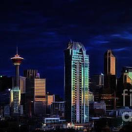 Brad Allen Fine Art - A Calgary Sunrise