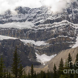 A Canadian glacier by Minnetta Heidbrink