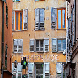 Denise Strahm - A Case of the Shutters, Grasse, France
