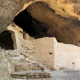 A Cave 3 Scene at the Gila Cliff Dwellings by Derrick Neill