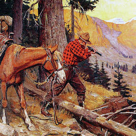 A Chance On The Trail - Philip R Goodwin