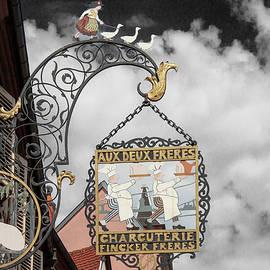 A Charcuterie in Colmar, France by Yuri Lev