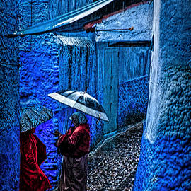 Christopher Byrd - A Chat in Chefchaouen - Morocco