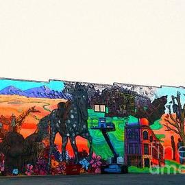 Kelly Awad - A City in Decay in Fresco