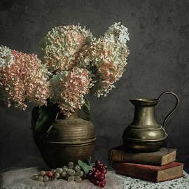 Jerri Moon Cantone - Hydrangea ala Caravaggio