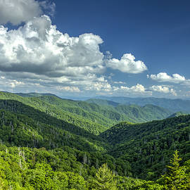 Reid Callaway - A Clear Day Great Smoky Mountains Blue Ridge Parkway