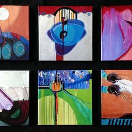 A collection of Embellished Giclees