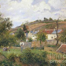 A Corner of le Hermitage, Pontoise, 1878 - Camille Pissarro
