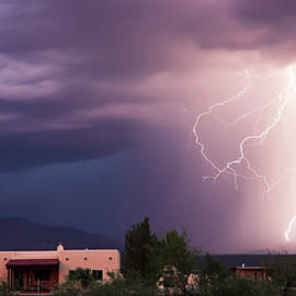 A Dance of Lightning in the Foothills by Derrick Neill