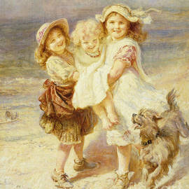 Frederick Morgan - A Day at the Beach