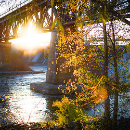 Blanchard Dam - A Favorite Place by Alex Blondeau
