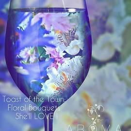 A Fine Wine Bouquet  by Pamela Smale Williams