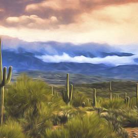 Saija Lehtonen - A Foggy Desert Day