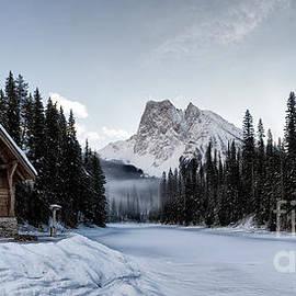 Brad Allen Fine Art - A Frozen Emerald Lake Morning