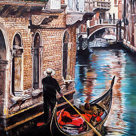 A Glimpse of Life in Venice by Saeed Ahmad