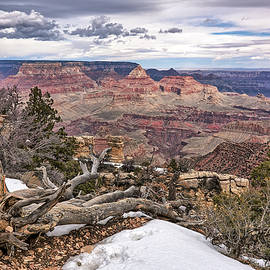 A Grand Canyon View by Robert VanDerWal