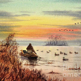 Bill Holkham - A Great Day For Duck Hunting