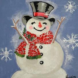 Nermine Hanna - A Happy Snowman