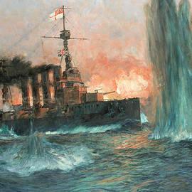 Charles Edward Dixon - A heavy cruiser at the Battle of Jutland