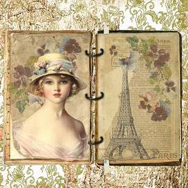 A Lady In Paris by Joy of Life Art Gallery