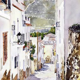 Margaret Merry - A Lane In Laujar