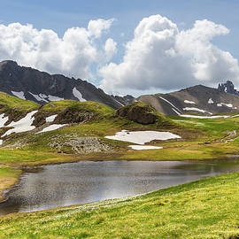 A little lake in the Queyras - French Alps by Paul MAURICE
