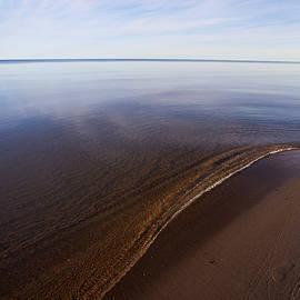 A Little Lip, Lake Superior by Jane Melgaard