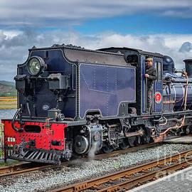 Adrian Evans - A Man And A Train