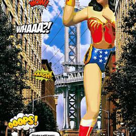 A Mega Wonder Woman Scorned II by Aurelio Zucco