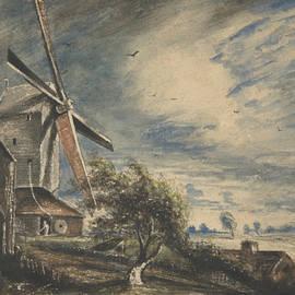 A Mill Near Colchester - John Constable