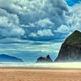 David Patterson - A Misty Cannon Beach