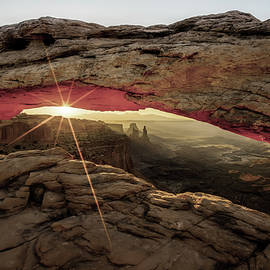 A New Day - Canyonlands Np Mesa Arch - Utah by Gregory Ballos