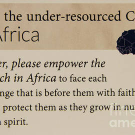 Reid Callaway - A Prayer For Africa Prayer Art