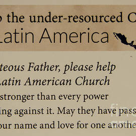 Reid Callaway - A Prayer For Latin America Prayer Art