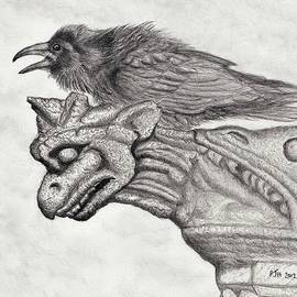 A Ravens Perch by Philip Harvey