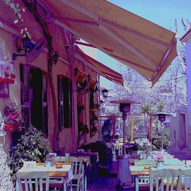 Nancy Shen - A restaurant in Plaka, Athen Greece