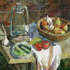 A rustic still life by Juliya Zhukova