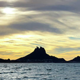 A Scenic Ocean Sunset View of Tetakawi Mountain and San Carlos,  by Derrick Neill
