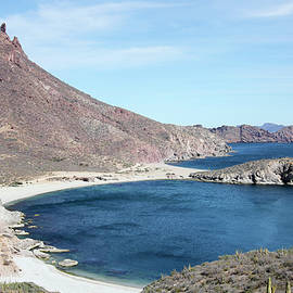 A Scenic View from Mirador Lookout, San Carlos, Sonora, Mexico by Derrick Neill