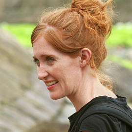 A Smiling Redhead by Derrick Neill