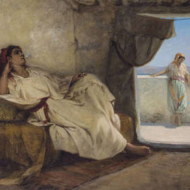 A Smoke in the Harem - Hippolyte Lazerges