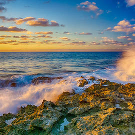 Amanda Jones - A Splashy Sunset