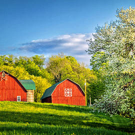 A Spring Evening In The Country by Carolyn Derstine
