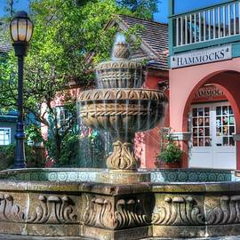 Carol R Montoya - A St. Augustine Water Fountain