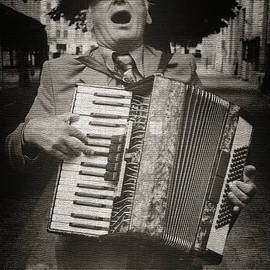 Yuri Lev - A Street Musician in Lviv, Ukraine