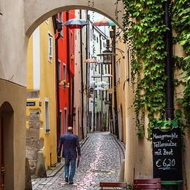 Andrew Wilson - A Stroll in Passau