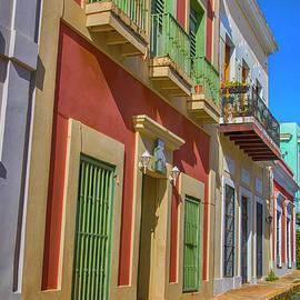 A Stroll through San Juan by Mariola Bitner