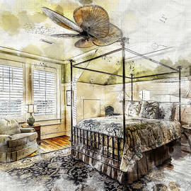 A Traditional Bedroom by Anthony Murphy