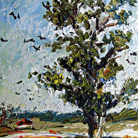 A Tree On My Way by Ginette Callaway